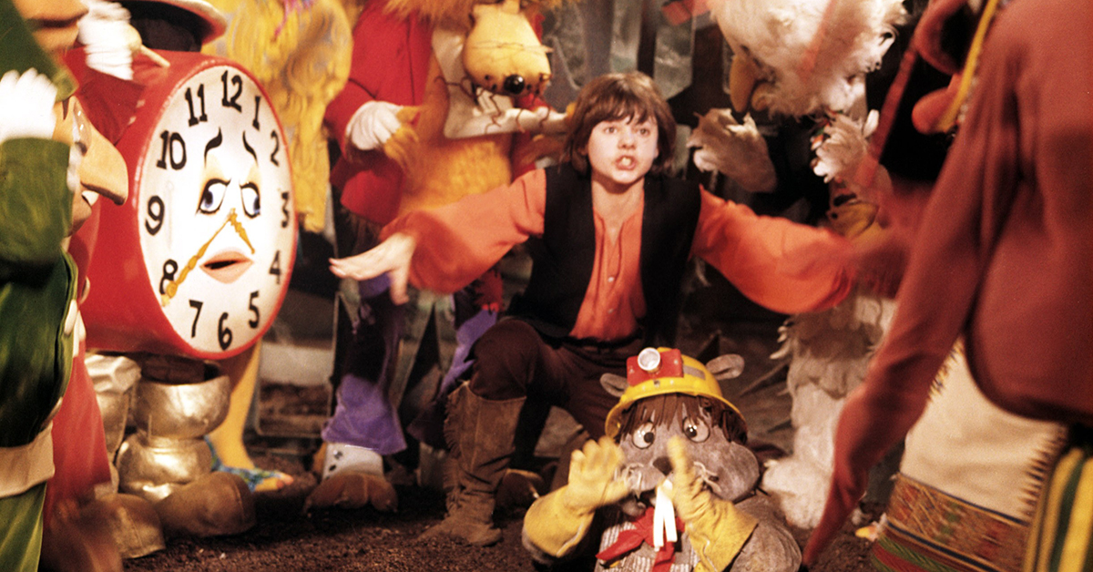 12 completely bonkers live-action children's shows from the past