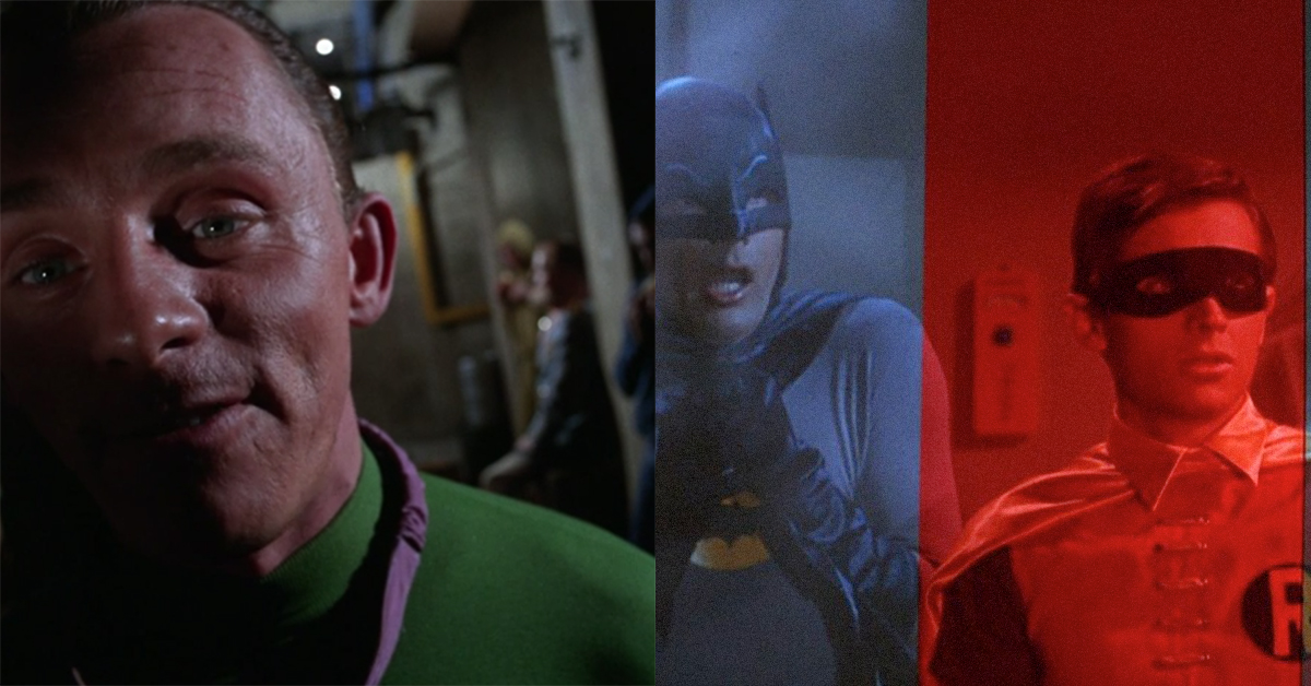 Ralph Woolsey, the man who gave 'Batman' its bold, distinctive look