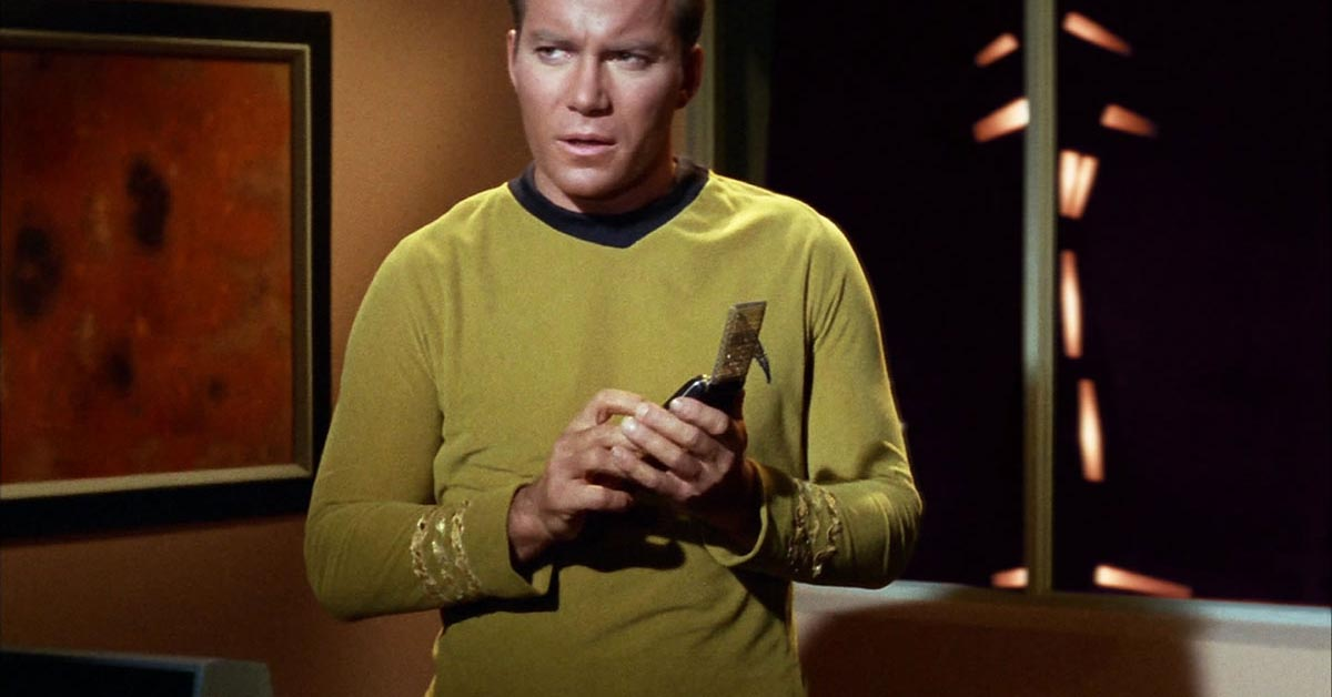 The Star Trek prop that predicted the flip phone is back