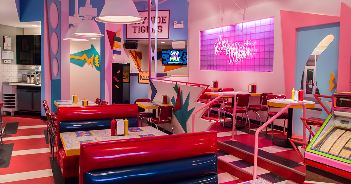 The Saved By The Bell Diner Is Finally Open For Business