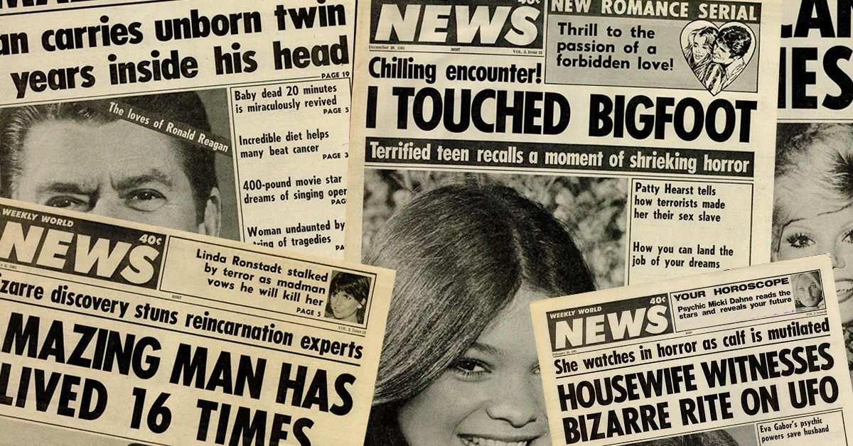 10 ridiculous weekly world news covers that made us do a double