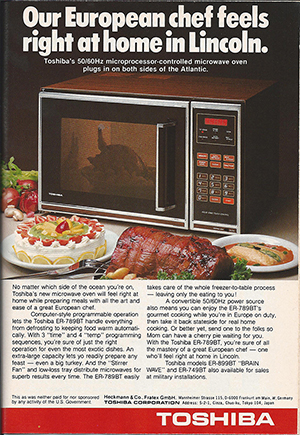 6 Vintage Microwave Ads Show The Evolution Of Nuking Your Food