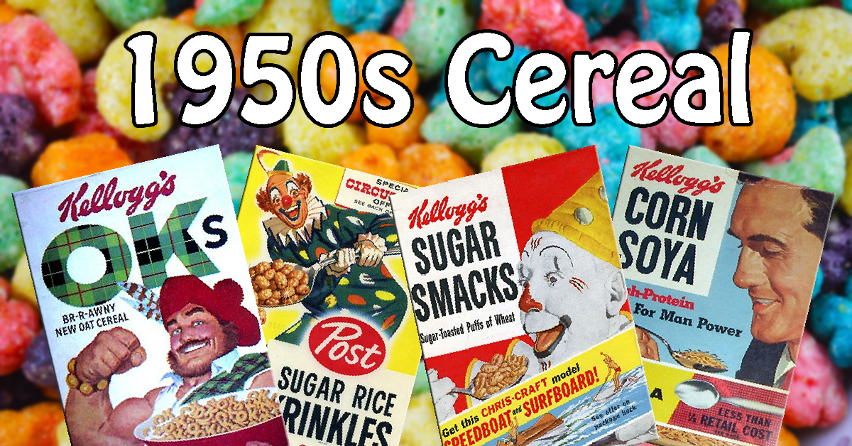 12 Long Forgotten Cereals Of The 1950s