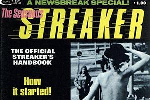 Young nudist streaking