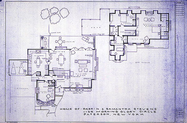 Artist creates stunningly accurate blueprints of our favorite TV homes – Floor Plans Of Tv Homes