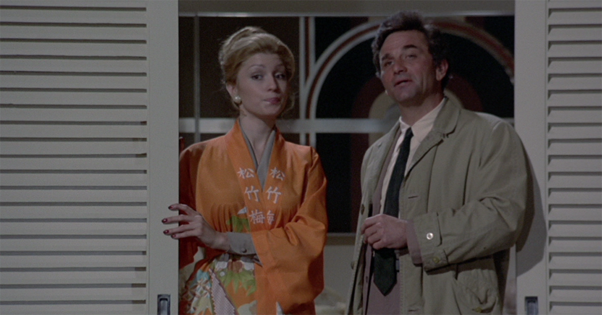 Peter Falk S Real Wife Appeared On Columbo More Than Any Other Actress
