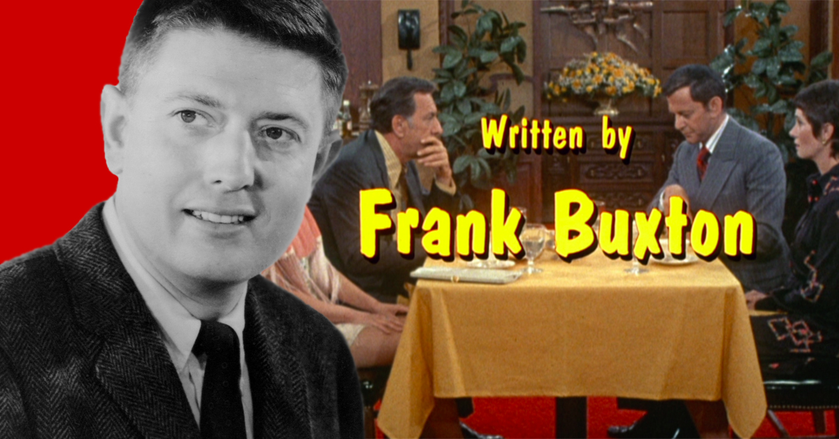Frank Buxton, writer, actor and director on 'The Odd Couple,' 'Happy Days'