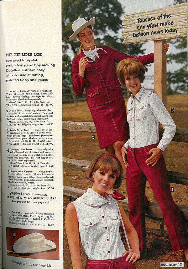 08915cd2f25 What women were wearing in the summer of 1966
