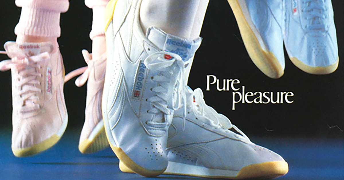 96105273ff987 The Reebok Freestyle was the first actual women s sneaker