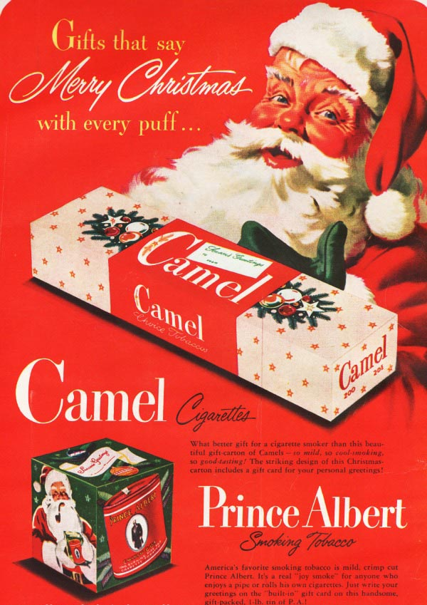 15 vintage Christmas ads you would never see today