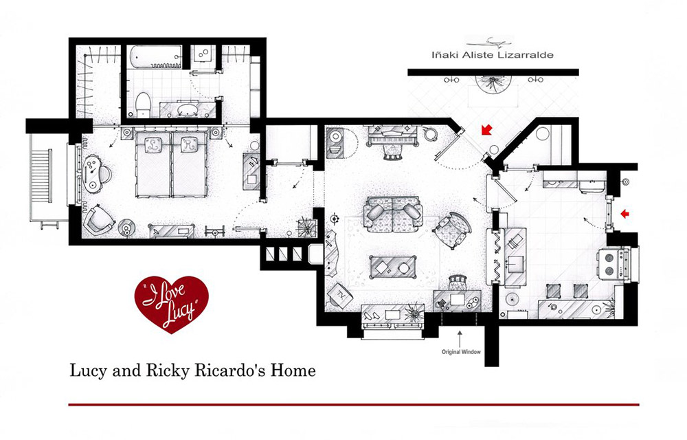 Have You Ever Wanted To See The Blueprint Mary Tyler Moore S Pad