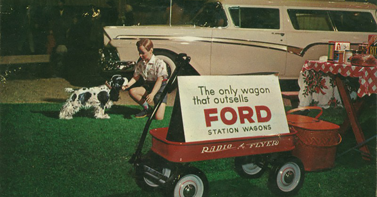 8 Facts About The Iconic Radio Flyer Wagon