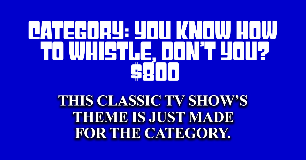 Can you answer these classic TV questions from real 'Jeopardy