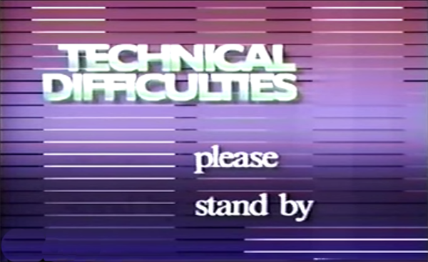 Please stand by! Remember these vintage test patterns and technical