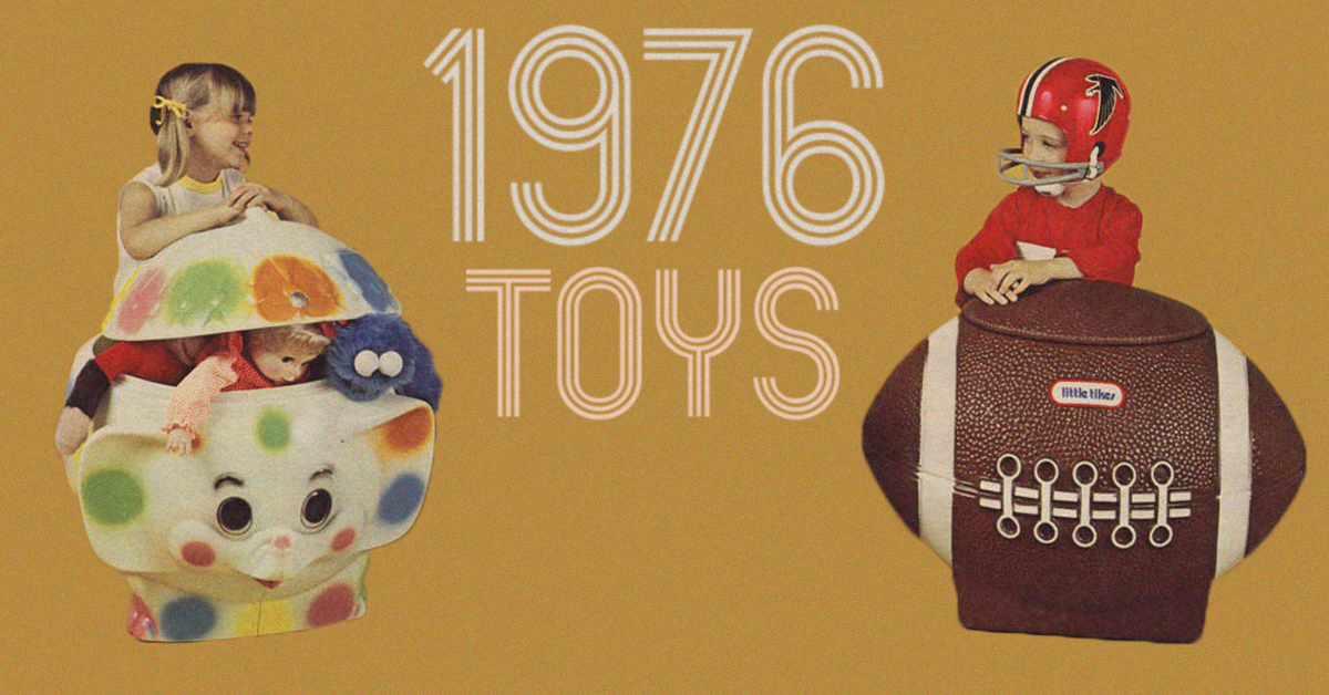 10 Toys Every Kid Wanted In 1976