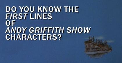 Shows | The Andy Griffith Show