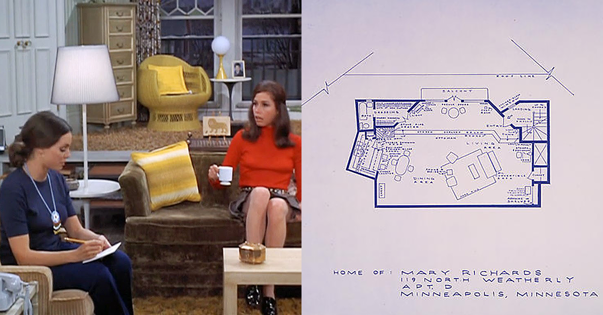 Artist creates stunningly accurate blueprints of our favorite tv homes malvernweather Image collections