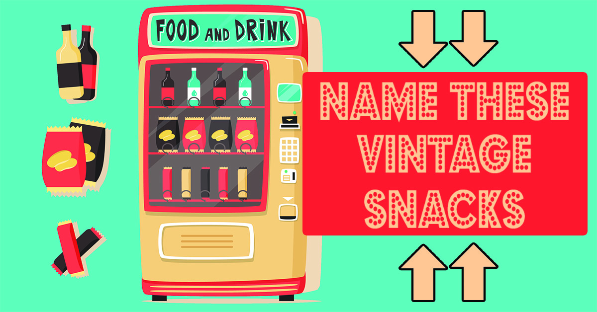 Can you name these vintage snacks?