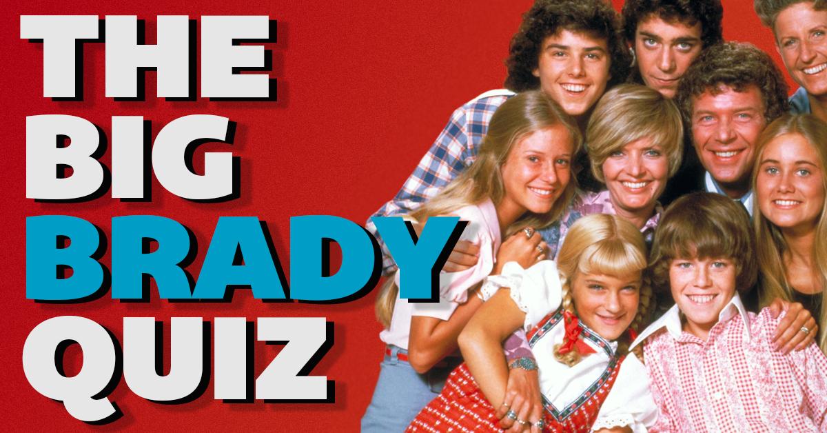 Brady Bunch Christmas Card.The Big Big Brady Bunch Quiz
