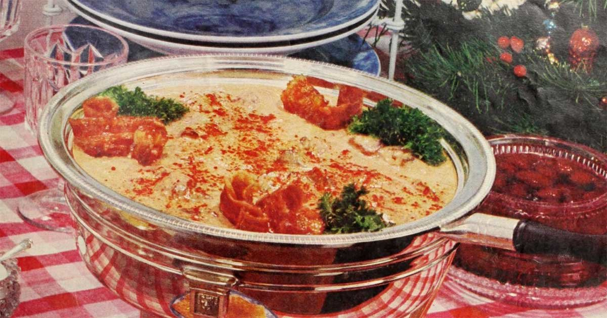 Pick Would You Eat These Vintage Holiday Dishes From 1959