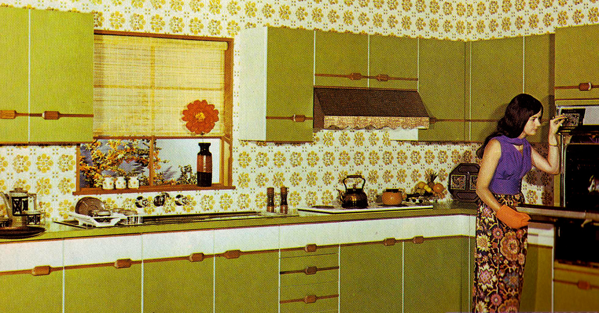 These zany interior design pictures prove that no decade for Interior design ideas for 1970s house