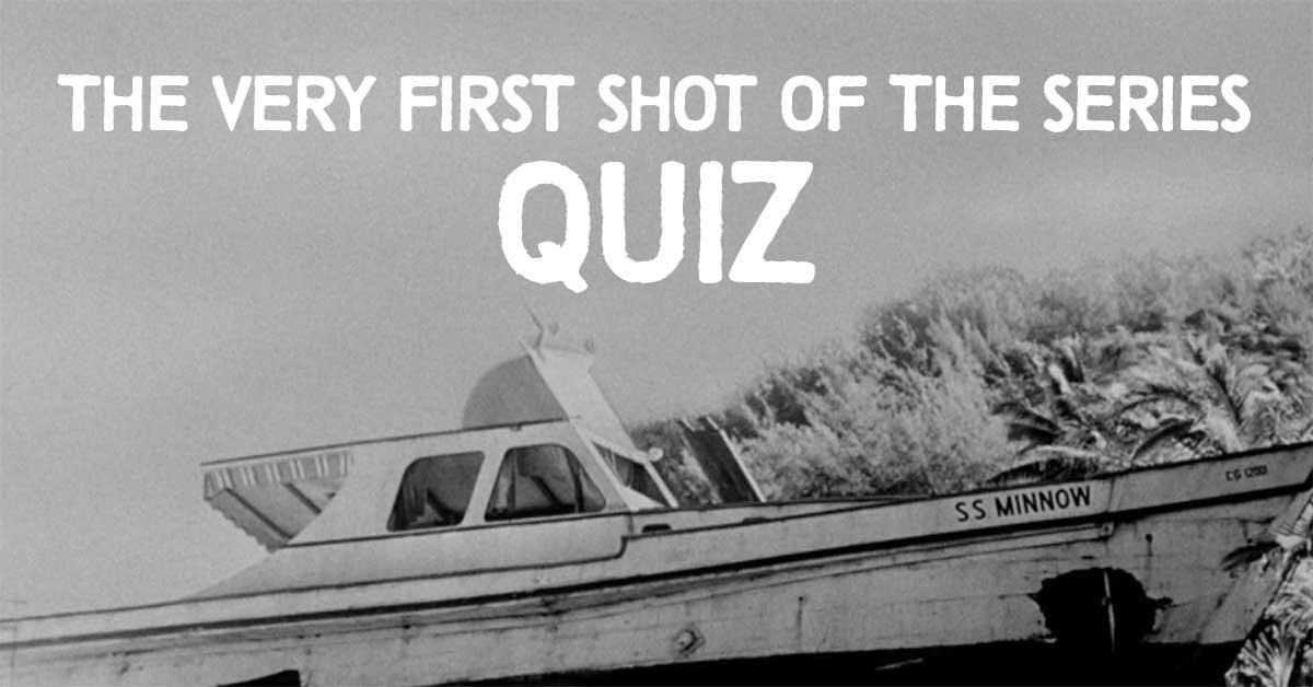 Can you identify the sitcom from the opening shot of its first episode?