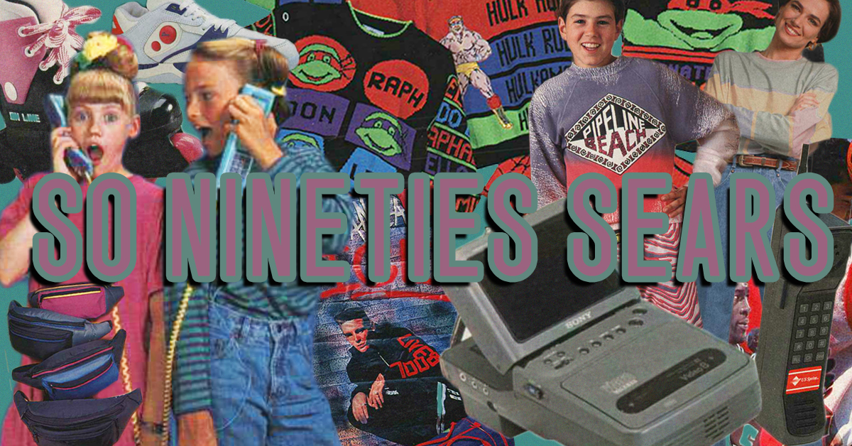 the most totally nineties things we found in the 1991 sears christmas catalog - Sears Christmas Catalog