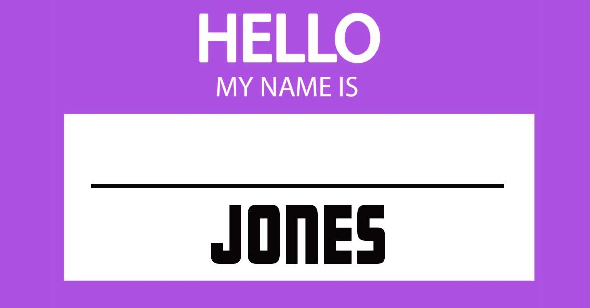 Fill in the blank with the correct first names to complete