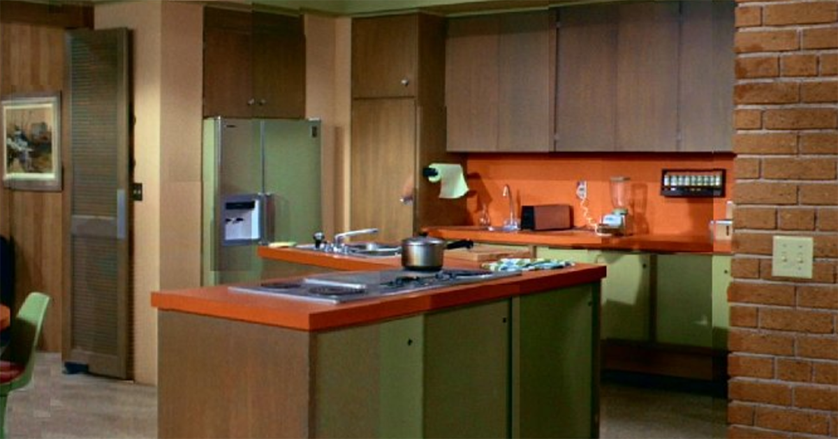 Can you name these TV shows by their kitchens?
