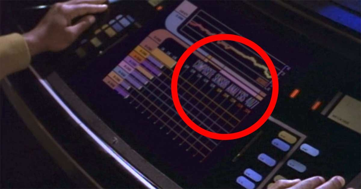 Star Trek paid this subtle tribute to M*A*S*H when David