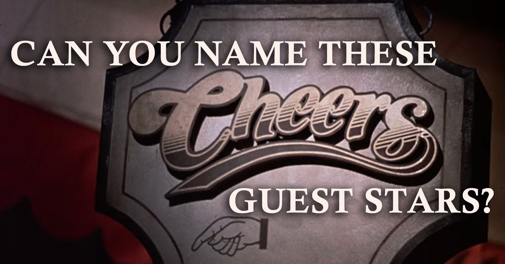 Can you name these guest stars on 'Cheers'?