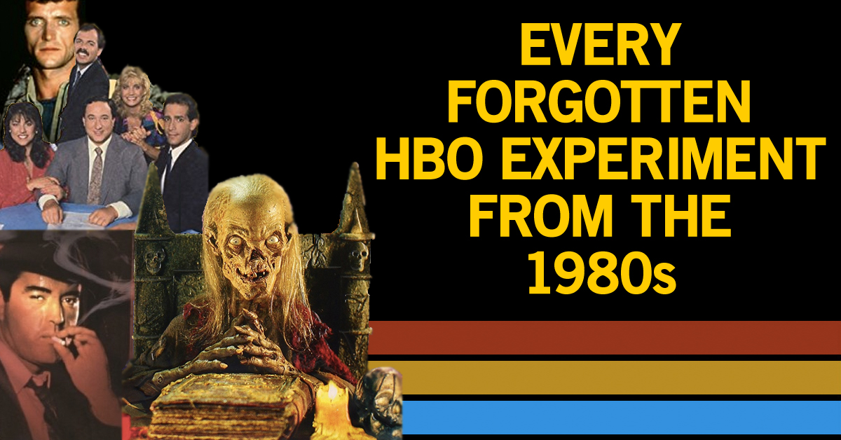 8 experimental '80s shows you watched on HBO and totally