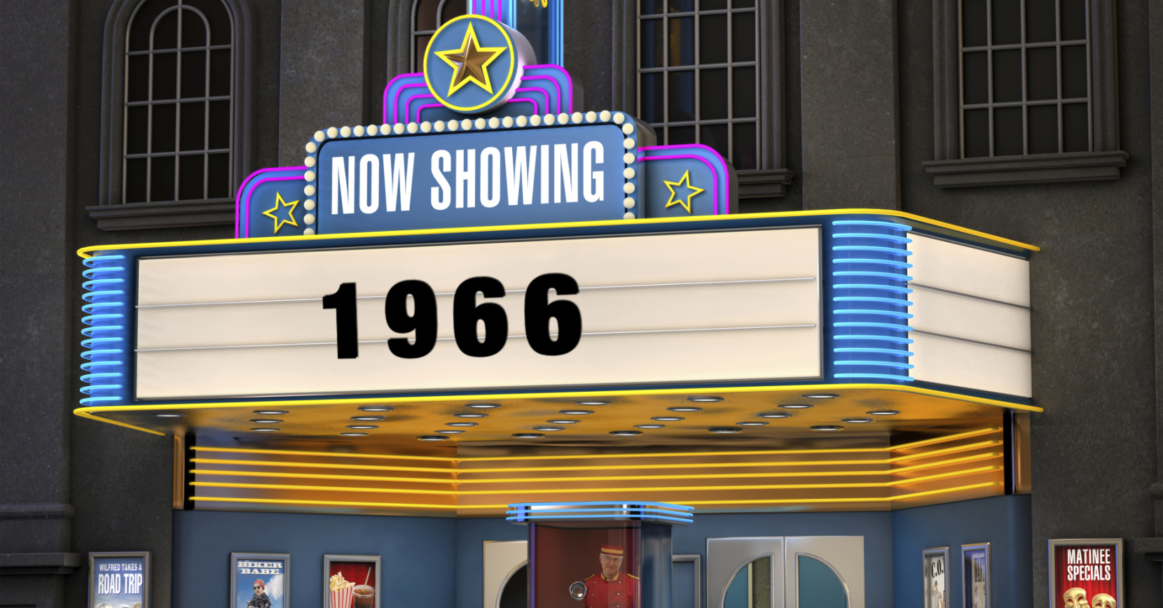 These were the top 10 movies of 1966. How many have you seen?