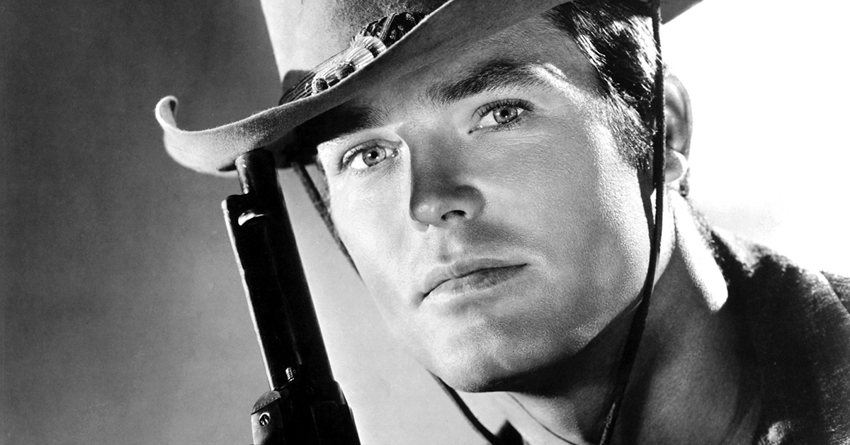 TY HARDIN, STAR OF THE TV WESTERN 'BRONCO'
