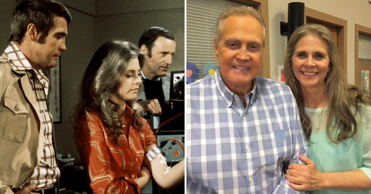 The Six Million Dollar Man And The Bionic Woman Reunite