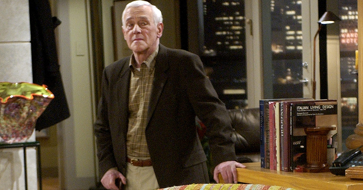 John Mahoney, the beloved father of 'Frasier'