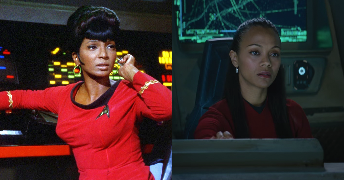 Lt Uhura S Costume In The New Star Trek Film Pays Homage To The