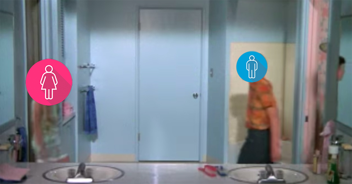 Can You Guess The Sitcom By Its Bathroom