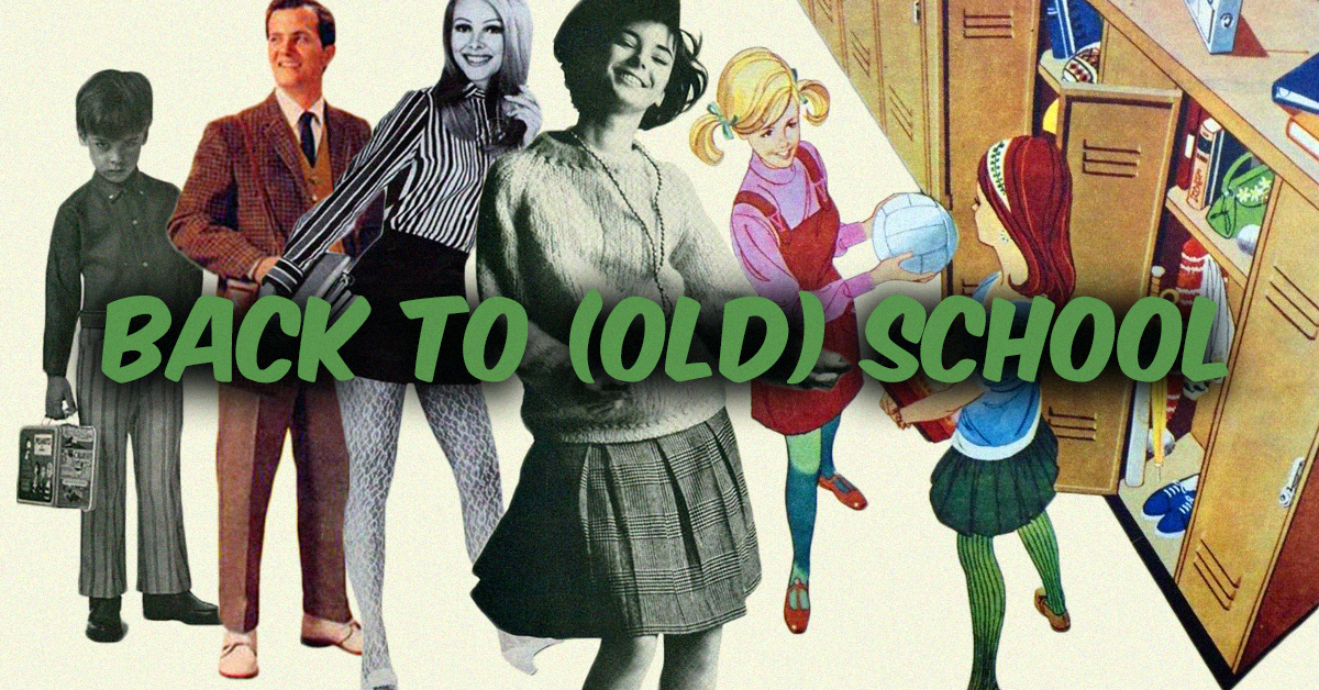 17 vintage back to school ads you would never see today