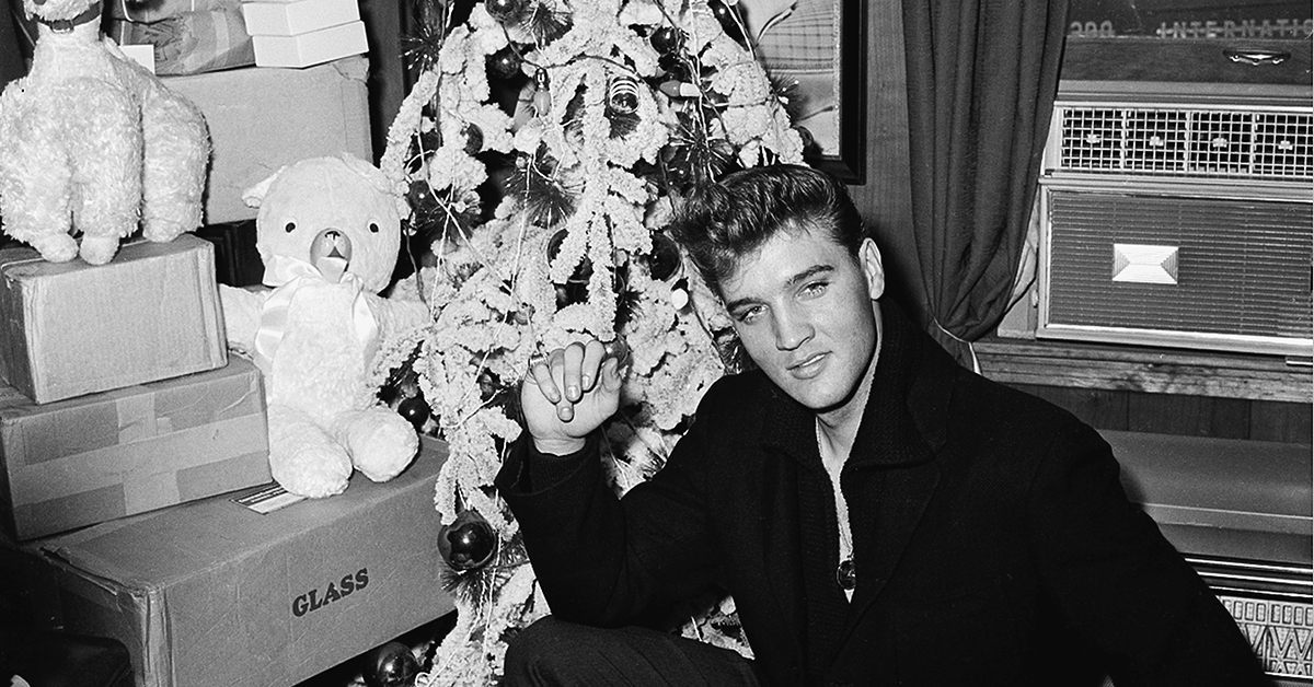 We show you celebs celebrating xmas you name the decade