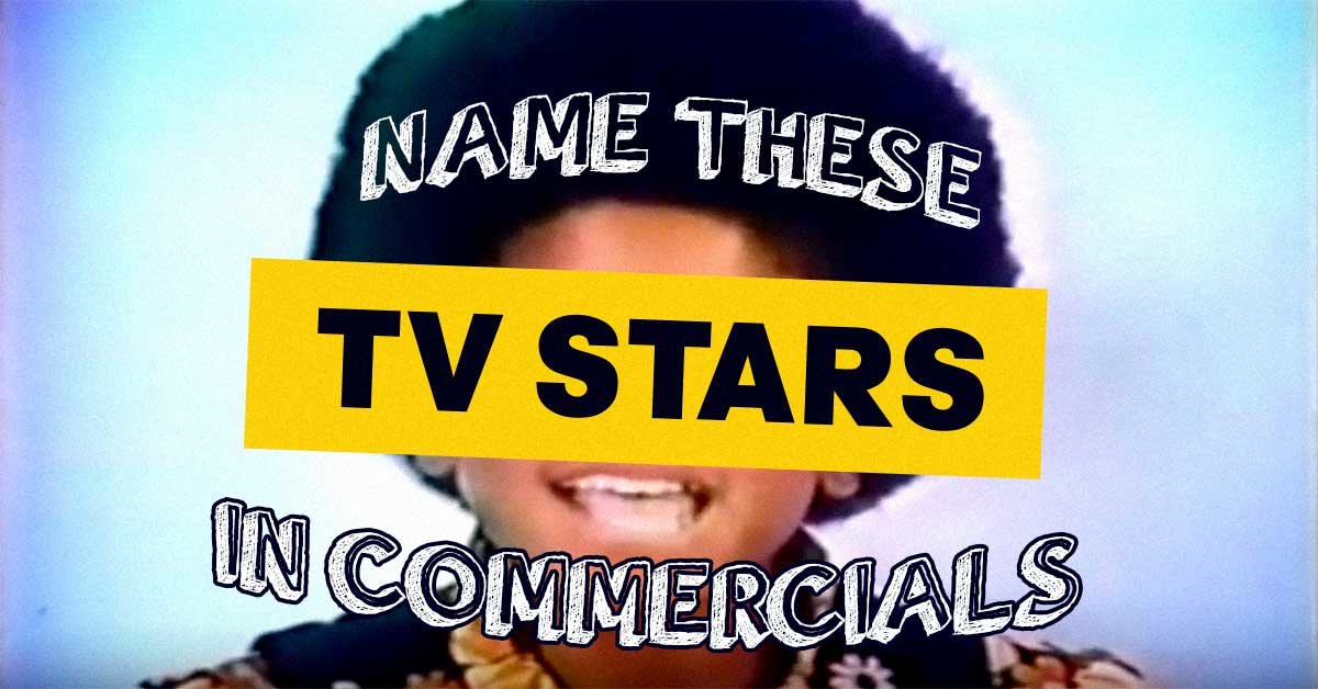 Can you recognize these celebrities in old television