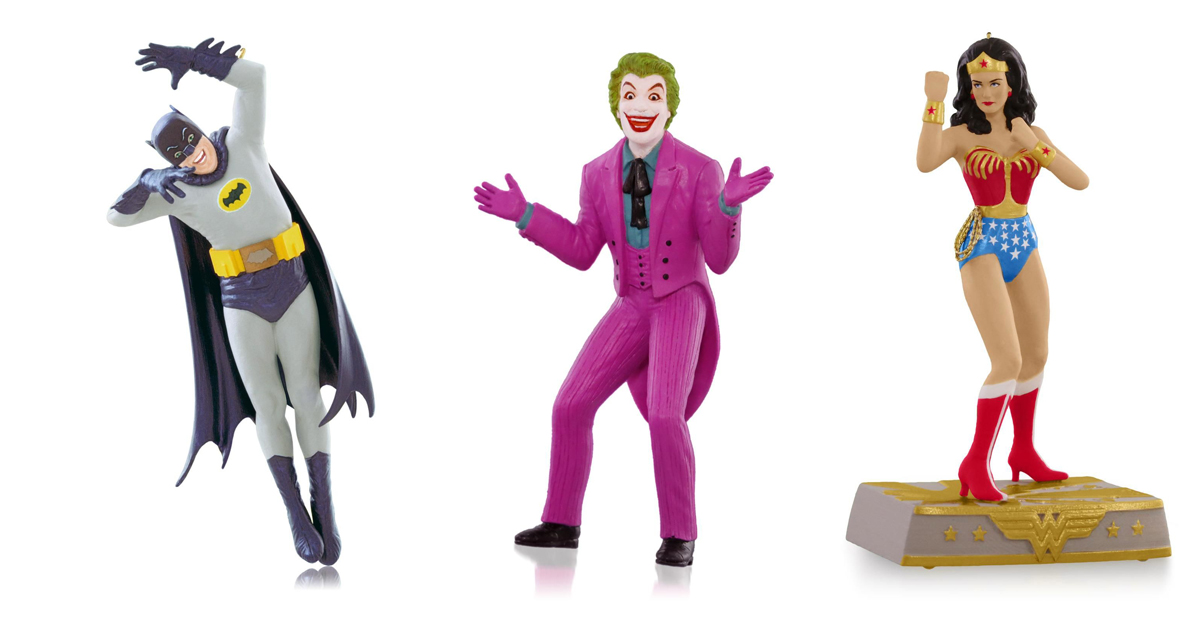 Joker Christmas Ornament.8 Great New Christmas Ornaments For Classic Tv Fans