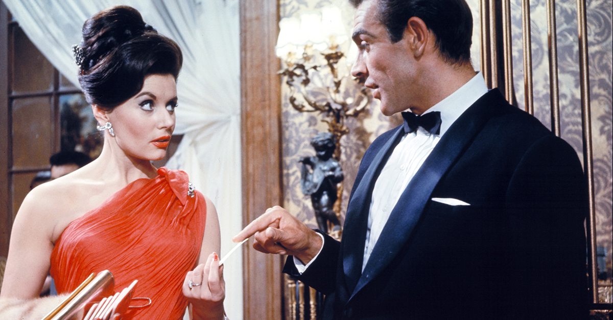 Eunice Gayson, the first Bond girl and guest star on 'The Saint'
