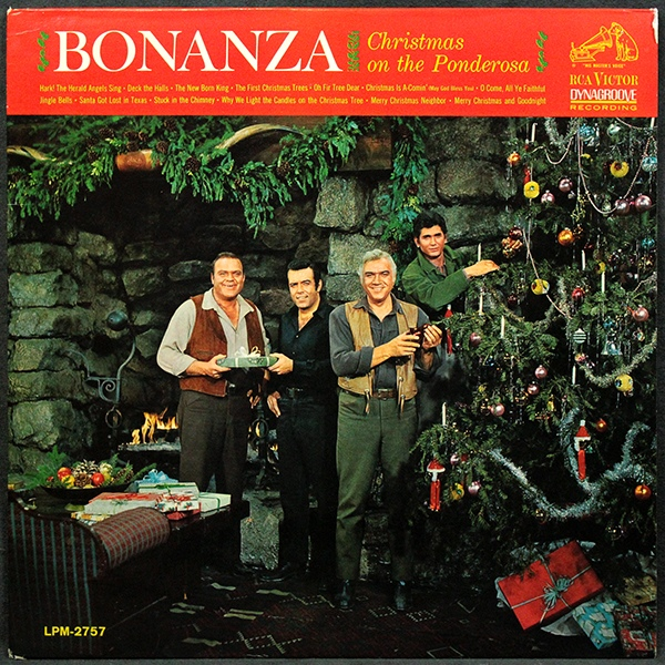 in 1963 ponderosa really knew how to celebrate christmas with the cast of the iconic western performing in character on this album - Classic Christmas Albums