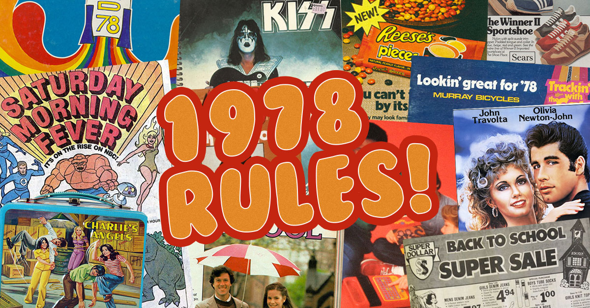 18 Reasons Why 1978 Was The Best Year For Going Back To School