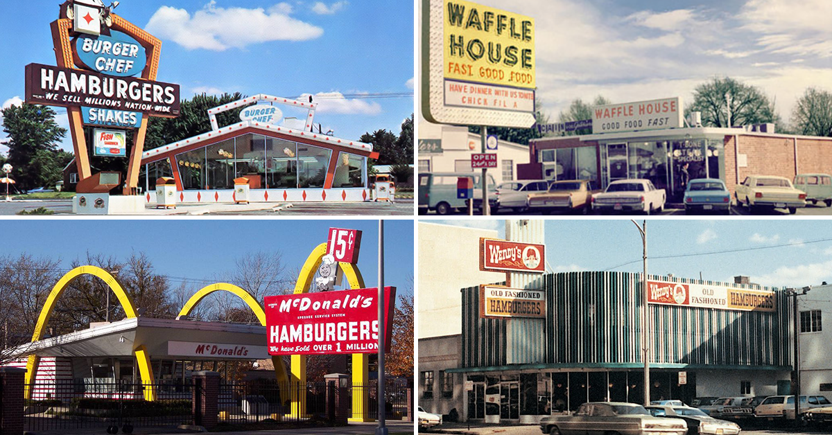 Here\'s the original location for all our favorite fast food chains