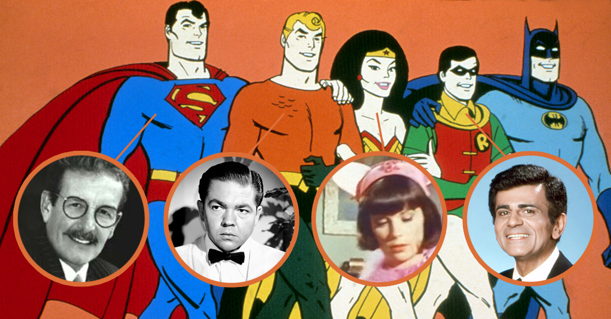 You never realized these 11 notable actors voiced Justice League ...