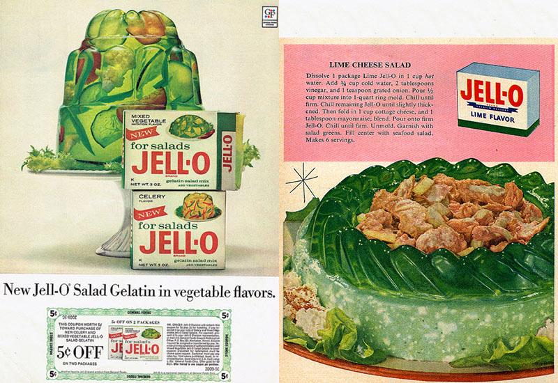 Lime Carrot Jello Salad
