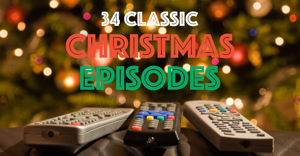 34 memorable christmas episodes of classic tv shows