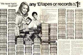 You Could Get 13 Of Them For A Penny Thanks To Columbia House.